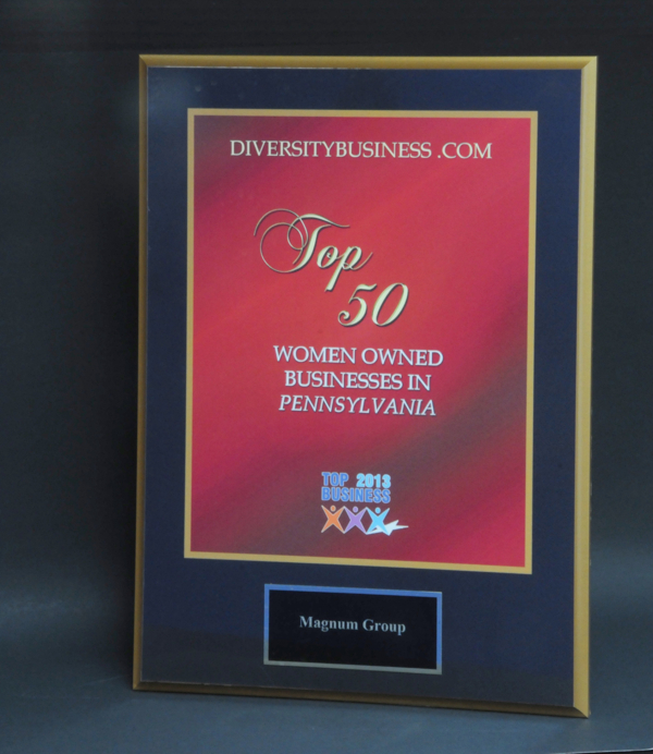 2013 Top 50 Women Owned Business Award