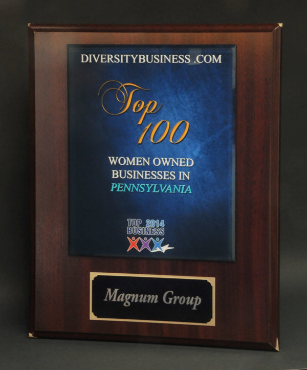 2014 Top 100 Women Owned Business Award