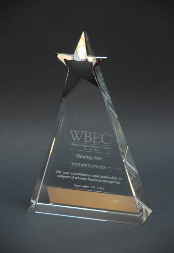2014 WBEC Shining Star Award