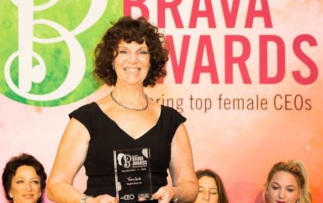 Vivian Isaak honored at the Iconic Crystal Tea Room